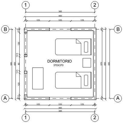 Cotas plano arquitect nico for Que es un plano arquitectonico